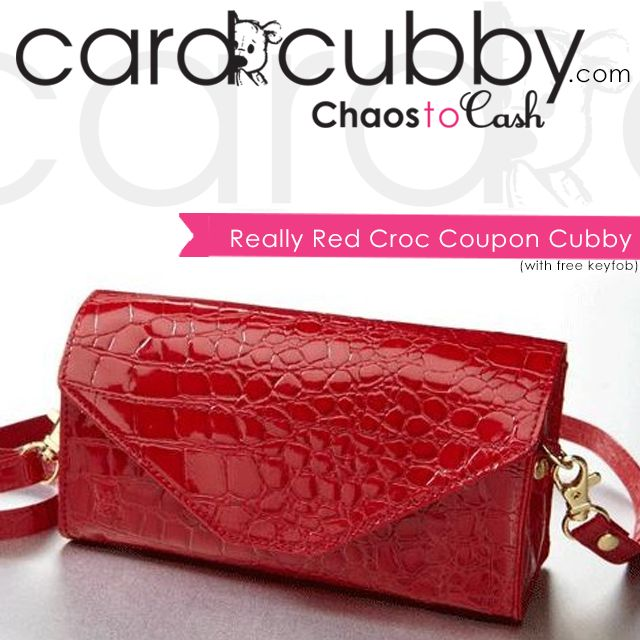 Fan Favorite: Really Red Croc Coupon Cubby! This coupon cubby comes with a FREE Cubby Key Fob! | BUY IT NOW: http://cardcubby.com/collections/more/products/really-red-croc-coupon-cubby  #cardcubby #couponcubby #card #cubby #creditcard #coupon #saving #money #wallet #purse #bag #giftcard #gift #shopping #ideas #tips
