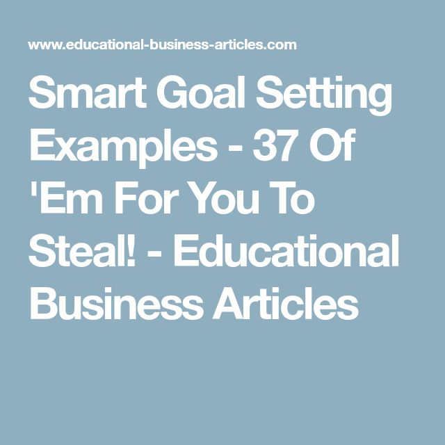The 25+ best Goal setting examples ideas on Pinterest Life goals - sample personal action plan