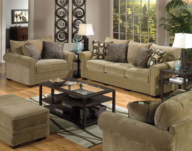 Living Room Design Ideas Brown Sofa 53 best complete living room set ups images on pinterest | living