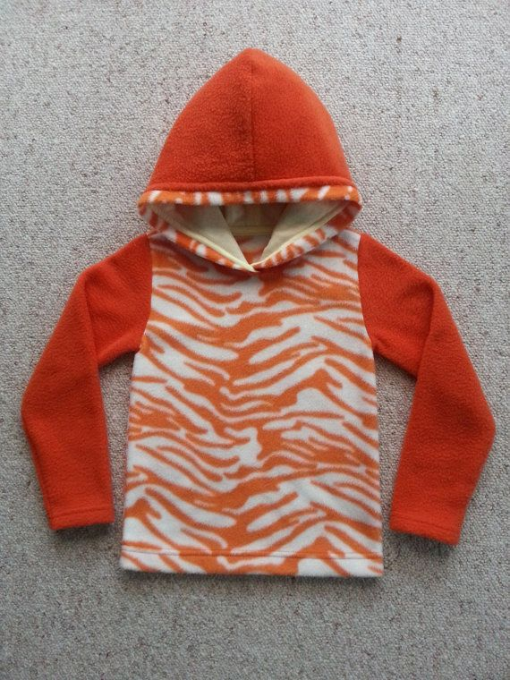 Fleece Hoodie size 1-16 yr old by NoraMadeMe on Etsy