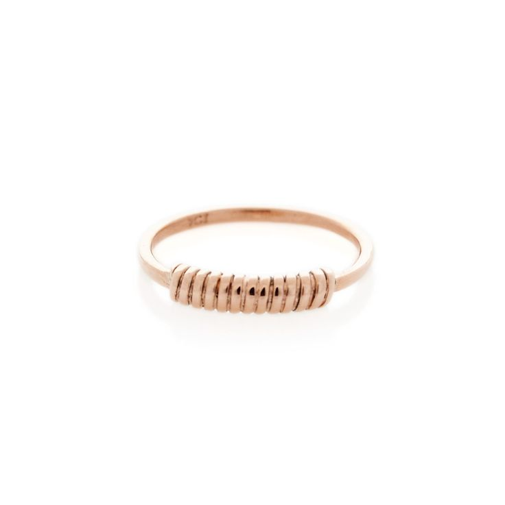 Rose Gold Wrap Around ring | Dear Rae | Online shop