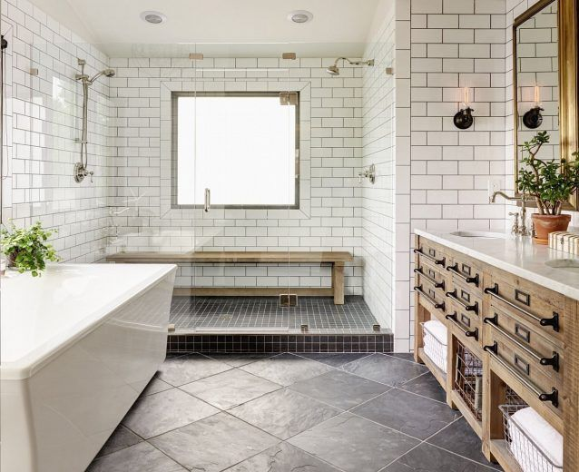 Best 25+ Modern Farmhouse Bathroom Ideas On Pinterest