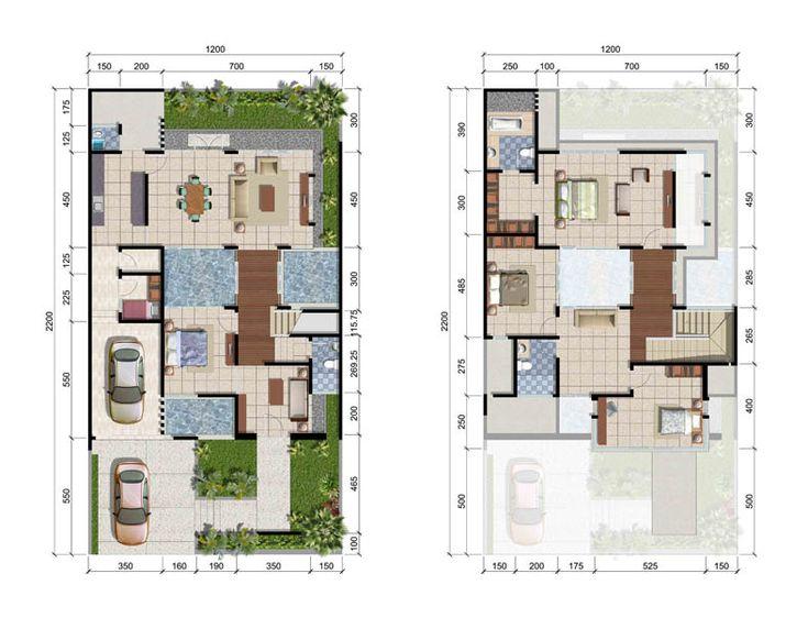 Desain Rumah Surabaya Barat CitraLand - Tipe Cassandra