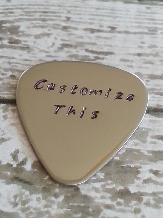 "fathers day from boys to da   other pinner Father of the groom gift- ""Thanking you for raising the man of my dreams."" Personalized Guitar Pick Customize it by CustomSignsandStamps, $16.99"