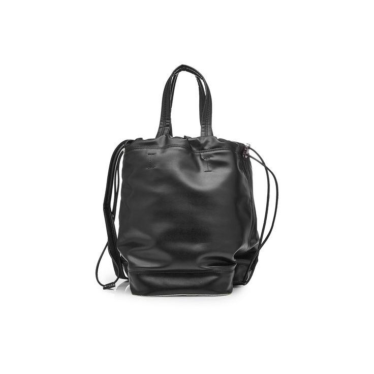 """""""Large PR Pouch"""" Black Bag"""