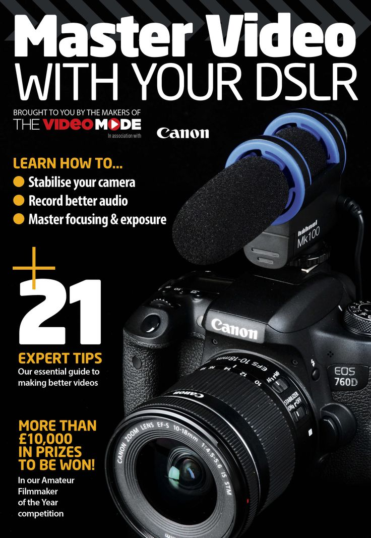 You can learn all about the art of shooting video with your DSLR with a new, free online supplement 'Master Video With Your DSLR' that's been put together by the expert team behind The Video Mode website in association with Canon. The supplement guides you through the key stages of planning, shooting and editing videos and is packed with handy hints and tips so you can quickly hone your DSLR skills to produce pro-style videos. Even if you've never shot video before with your DSLR you can…