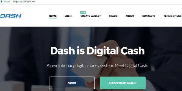Dash-Coin.net è un wallet online truffa, a scriverlo il team dash.org nel suo blog. La soffiata è arrivata dall'amministratore di un faucet dash.
