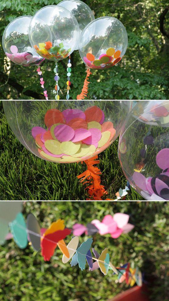 воздушные шары на день рождения - прикольный декор и чудесный подарок своими руками