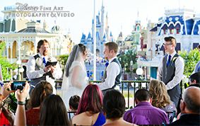 "Calling all Disney's Fairy Tale Weddings and Kleinfeld brides! We've rounded up a few of our favorite Disney ceremony locations and are dishing ways you can ""say yes"" to the perfect bridal style to compliment your wedding venue."