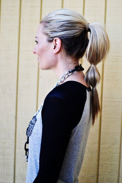 The Bubble Pony ~ The Shine Project: 10 Fun, Bubbles Ponies, Ponytail Tutorials, Fun Ponytails, Hair Ponytail, Hairstyles Tutorials, Bubbles Ponytail, Ponytail Ideas, Easy Long Hairstyles