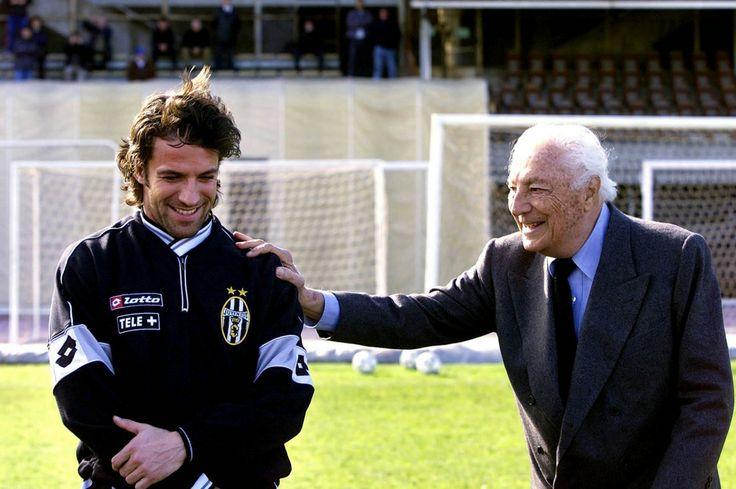 Alessandro Del Piero et Gianni Agnelli