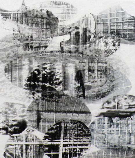 """Break-in 2, 2009, oil on canvas, 24"""" x 21"""" (61 x 53 cm)"""