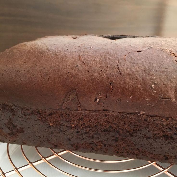 Veganer Schokoladenkuchen mit Alsan