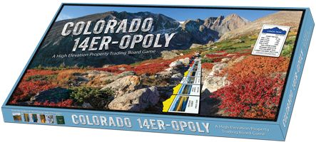 CFI - Colorado Fourteeners Initiative donated 14er playing cards, 14er-opoly and hat.  Value $65.