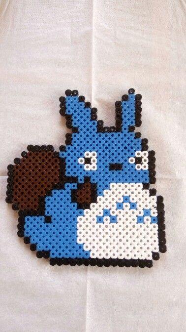 Totoro en perles à repasser Hama