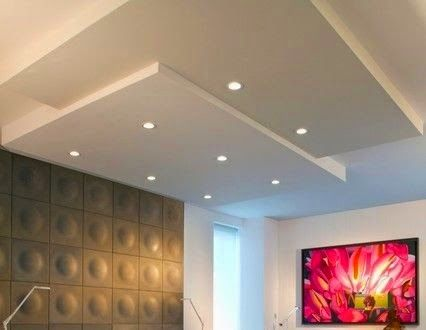 63 best gesso images on pinterest ceilings ceiling design and led false ceiling lights for living room led strip lighting ideas in the interior aloadofball