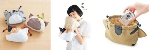 猫グッズを企画&開発するフェリシモ猫部が、雨の日に役立つ猫モチーフの商品を3月10日に発売しました。   濡れた折り畳み傘をそのまま収納できるケース「にゃんこお出かけカバー」(1500円)、猫柄&ネコ耳付きのレインポンチョ「猫になれる耳付きレインポンチョ」(3900円)、吸水タオル素材の巾着「にゃんきんちゃく」(1500円)、猫柄保冷機能付きのバッグ「お買い物のお供をするにゃんカゴバッグ」(3000円)の新商品4種類が展開されています(価格はいずれも税別)。