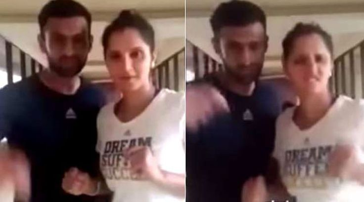 Sania Mirza Dubsmash With Husband Shoaib Malik