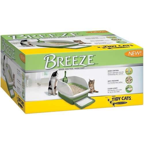 Purina Tidy Cats Breeze Cat Litter Box Starter Kit For