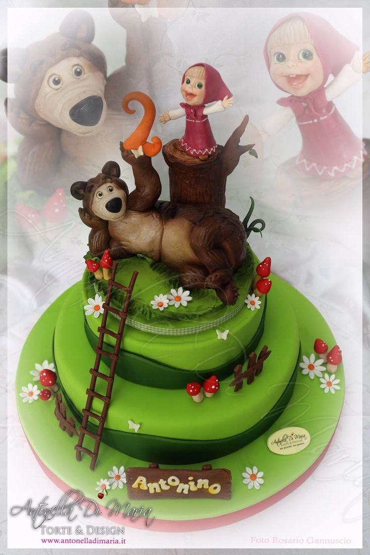 181 best images about MASHA AND THE BEAR CAKE on Pinterest ...