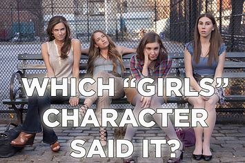 """Which """"Girls"""" Character Said It? Take the BuzzFeed Quiz."""