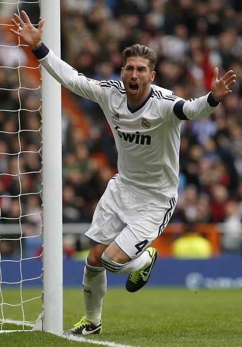 Sergio Ramos, tu diste la décima, marcaste el gol que ahora nos hace ser el mejor equipo del mundo. Si señor el hombre con más cojones y valentía, simplemente el mejor central del mundo