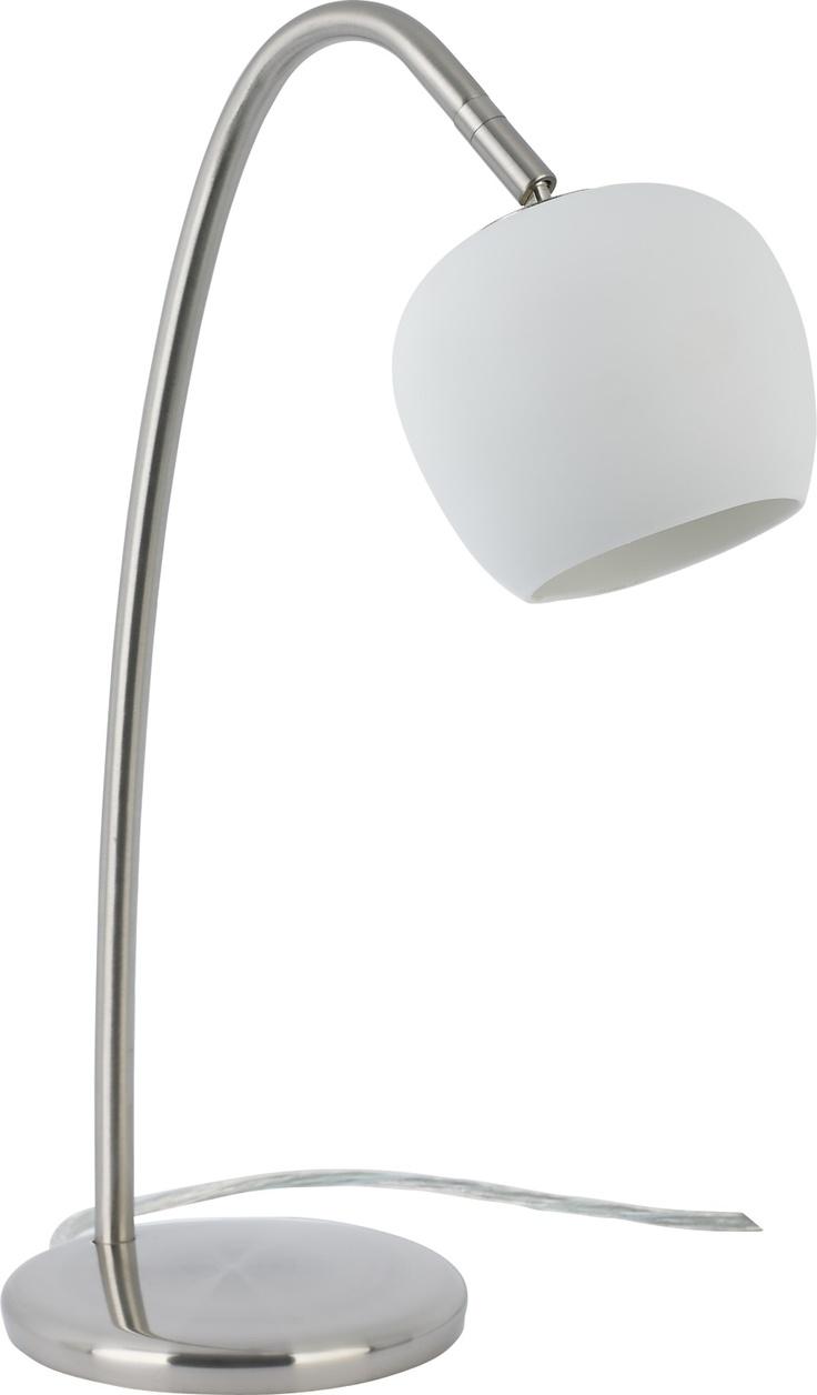 Bud bordlampe med dimmer. Dimensjoner: B14 x H41 x D22 cm. Kr. 510,-