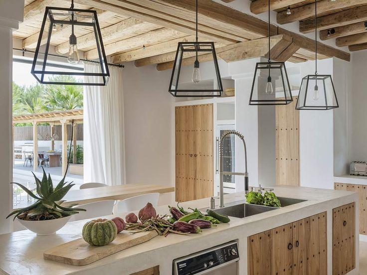 Ja zu den in der Küche aufgehängten Leuchten.   – Esther