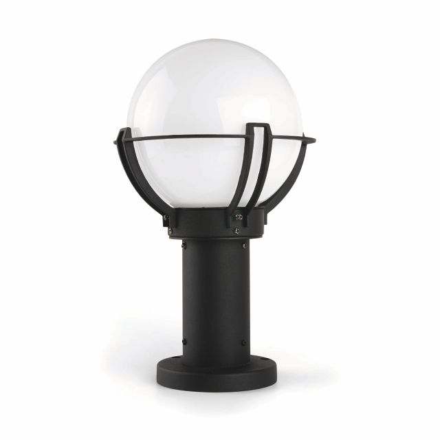 Lámpara de jardín para muro redondo #lamparas #jardin #iluminacion #led #decoracion #interiorismo #luz #verano