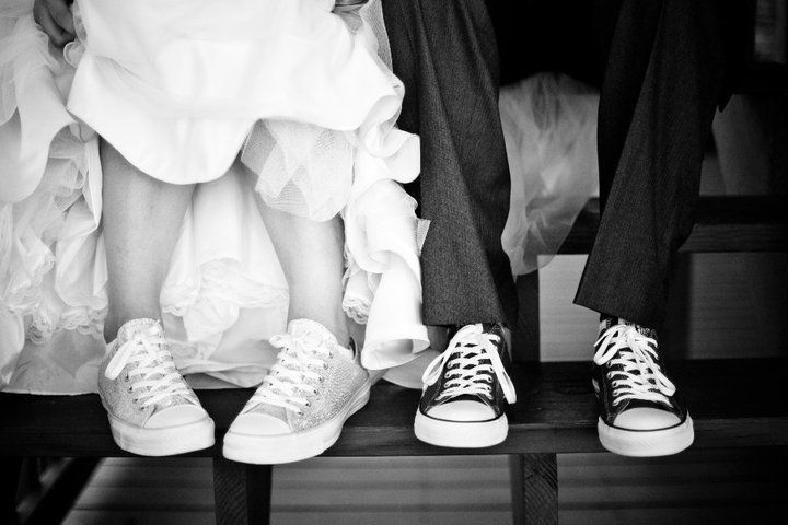 Chuck taylors for everyone! Yep future wedding!