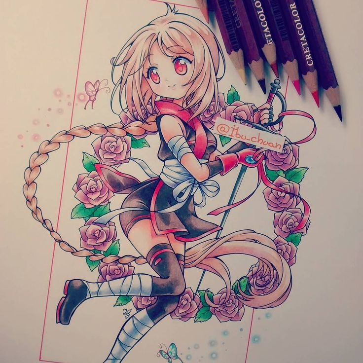 Aww I wish I could draw like this.