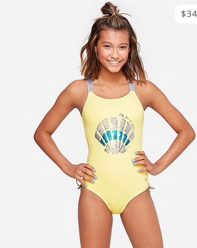 Justice Size 10 BEACH BOUND Rashguard New With Tags