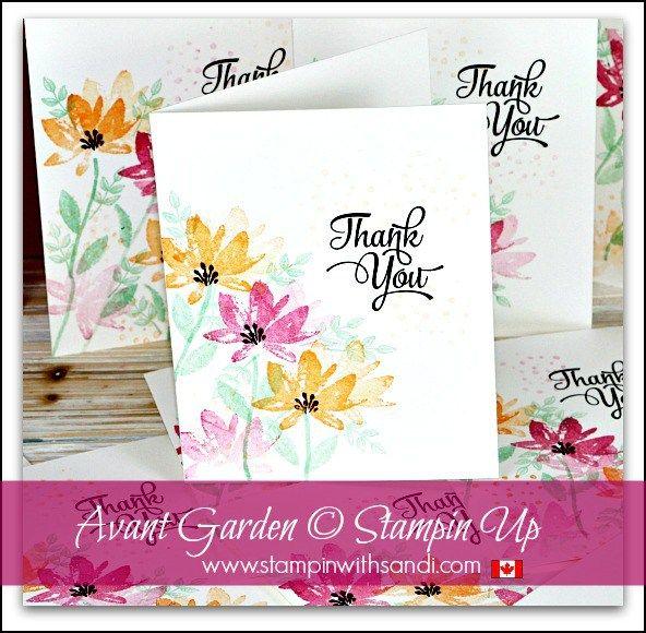 Avant Garden Thank You