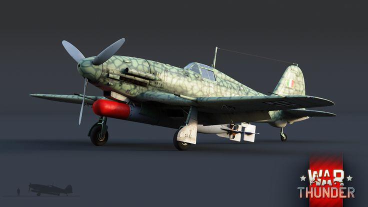 """War Thunder - бесплатная онлайн-игра про войну![В разработке] Fiat G.55 Centauro: """"Две силы"""""""