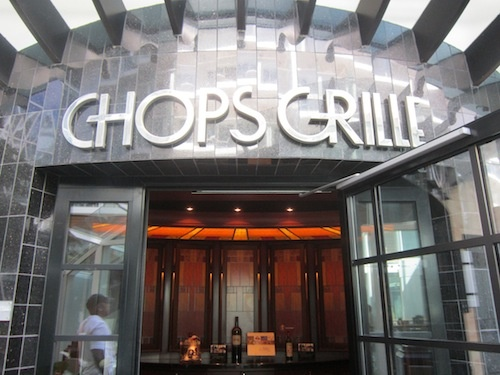 Chops Grille is one of the specialty restaurants
