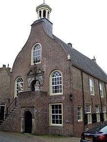 Geervliet - voormalig stadhuis, Kaaistraat 2. 17e eeuw (oorsprong), 18e eeuw (verbouwing)