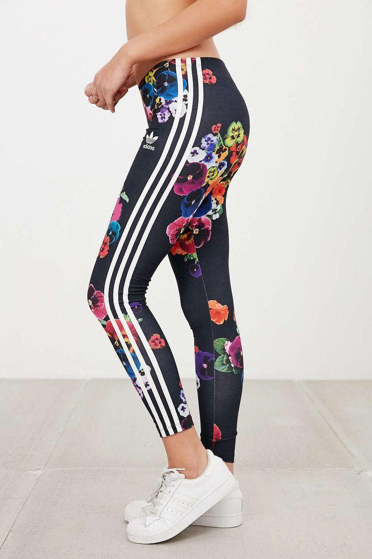 adidas Originals Floral Print Legging #UrbanOutfitters