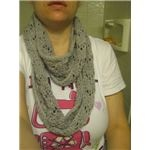 Infinitely simple lace: an infinity scarf to knit.