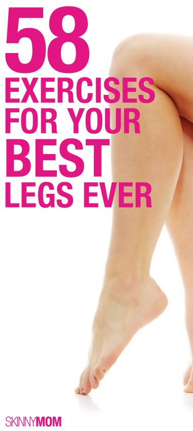Get your legs ready for this summer! 58 moves!