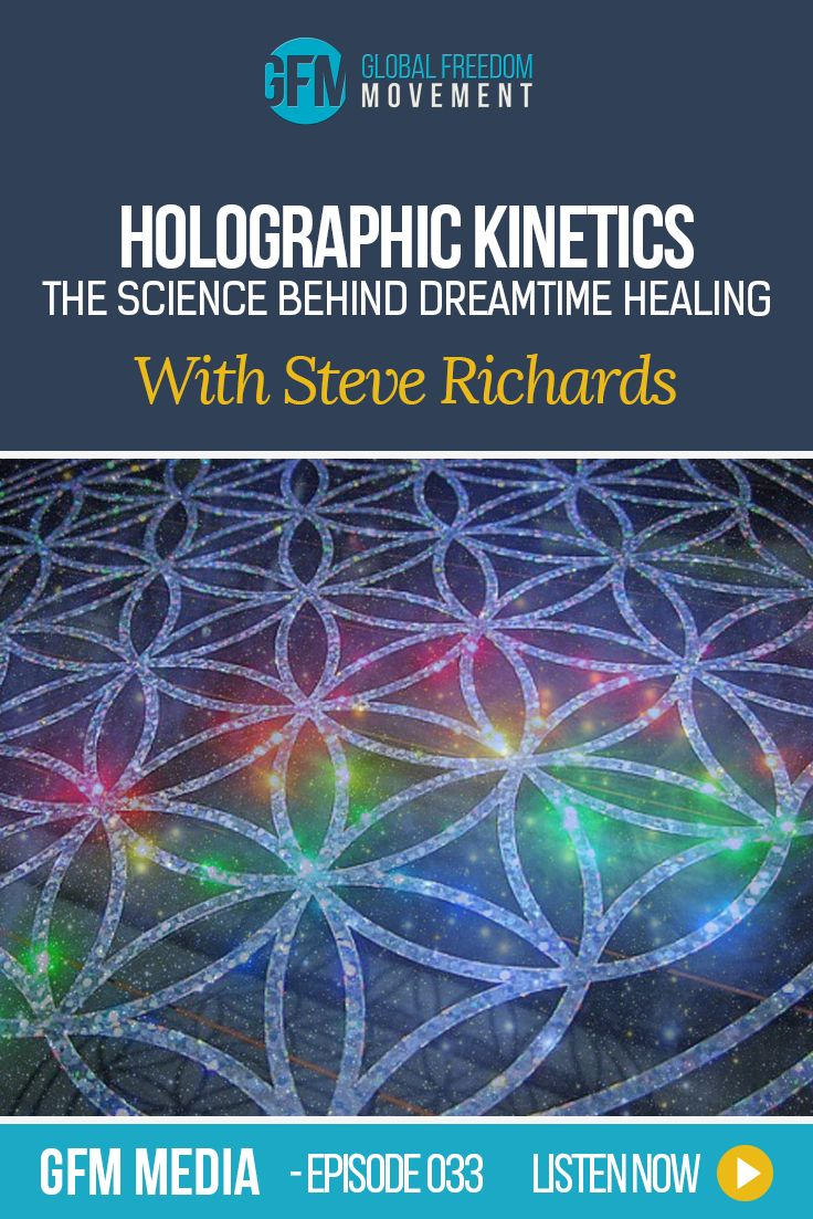 An interview with Steve Richards, founder of Holographic Kinetics. Holographic Kinetics is a combination of 40+ years research in areas such as; Metaphysics, Religion, Spirituality, Hypnosis, Kinetic energy, Kinesiology, Quantum physics, Russelian physics, Radionics, Gravit-O-Biology, Body Electronics, Iridology, Sclerology, and other modalities in understanding the power of the subtle bodies in the creation and removal of internal-created realities, within their own separate dimensions of…