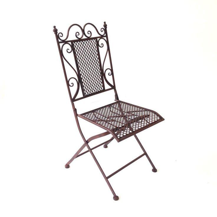 Cadeira Dobrável Quadrada Frufru - Decoração :: Loja Dom Mascate