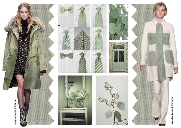 Pantone color trends fall 2015 / Desert sage / Divatszínek 2015 ősz tél