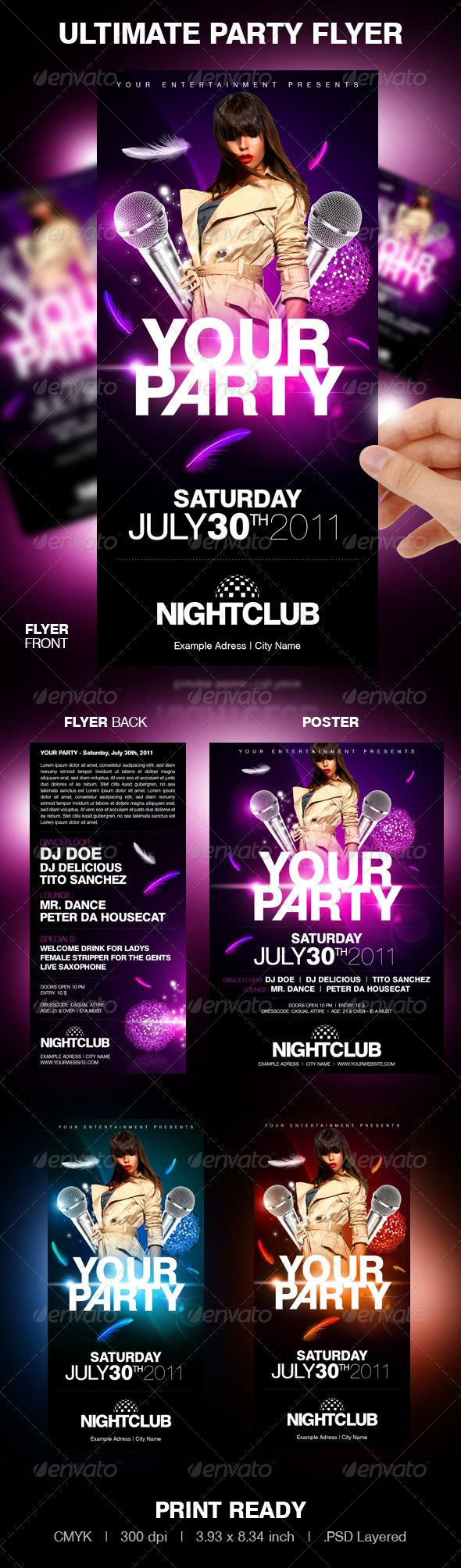 flyer events