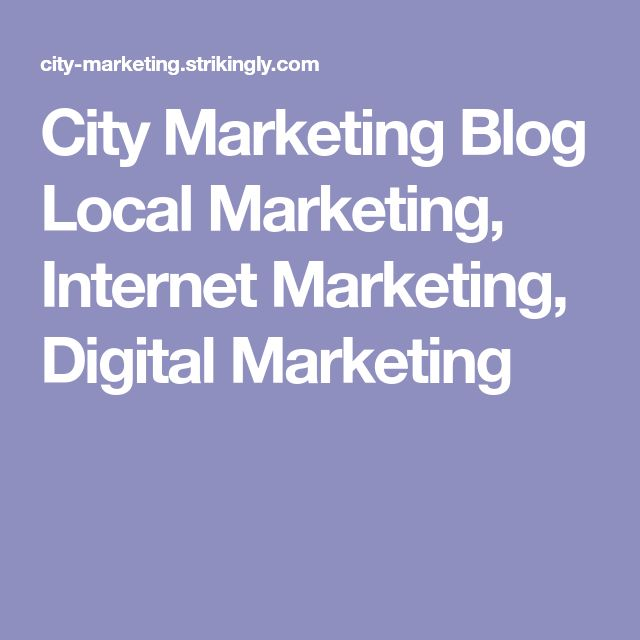 City Marketing Blog  Local Marketing, Internet Marketing, Digital Marketing