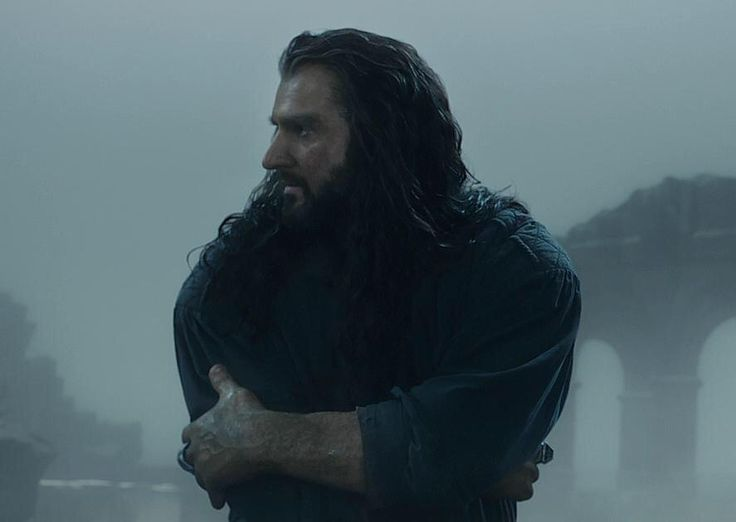 Richard as Thorin Oakenshield in The Hobbit:The Desolation of Smaug (2013)