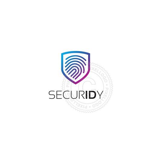 ID Security - fingerprint technology logo