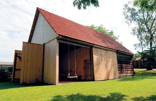 Staronová krása zachráněné stodoly