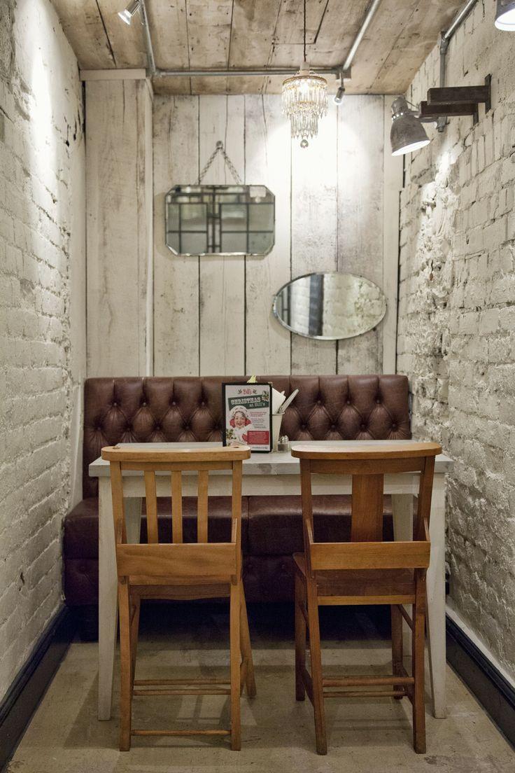 small nook. #restaurant