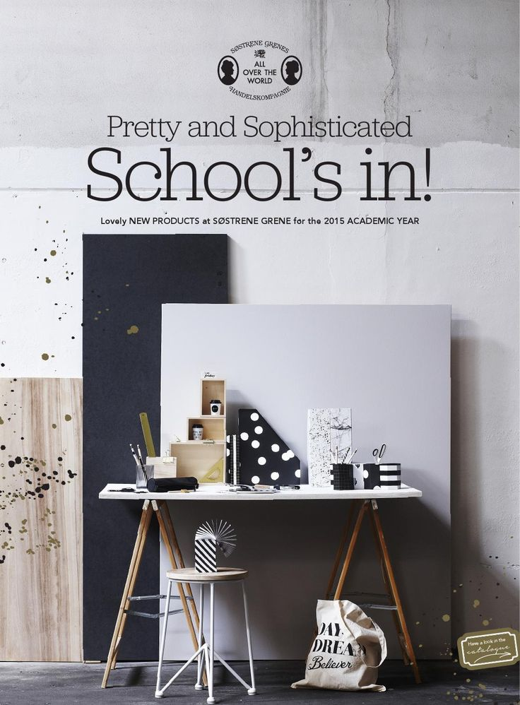 Sostrene grene back to school 2015 uk  Pretty and Sophisticated School's in! Lovely NEW PRODUCTS at SØSTRENE GRENE for the 2015 ACADEMIC YEAR