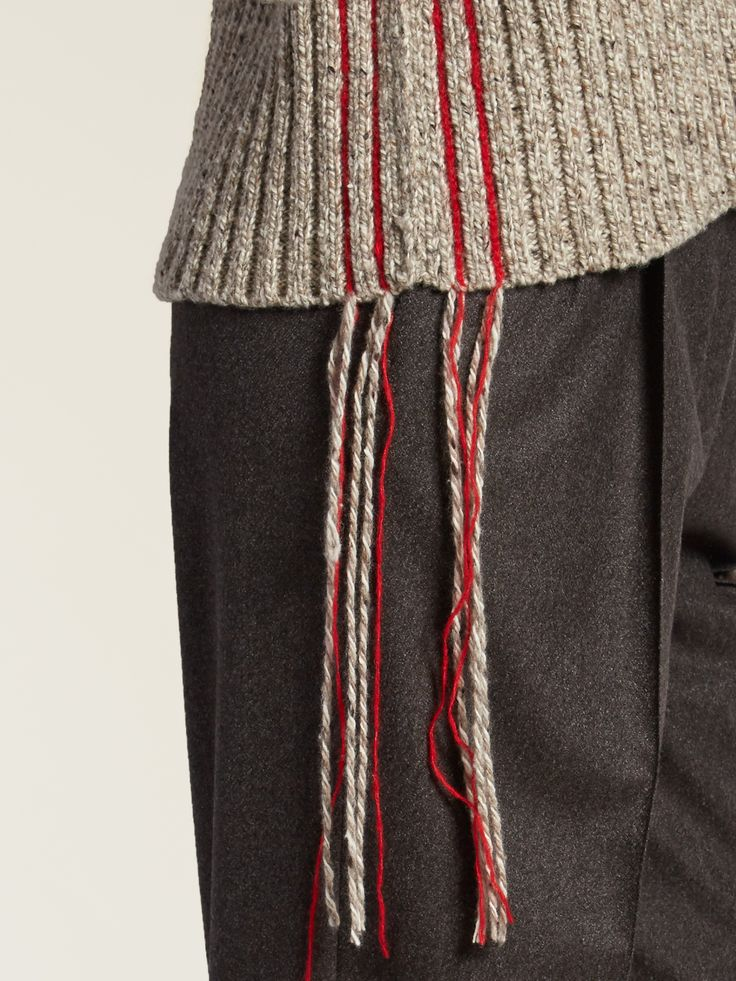 Fenix stitch-detail cashmere sweater | The Row | MATCHESFASHION.COM US